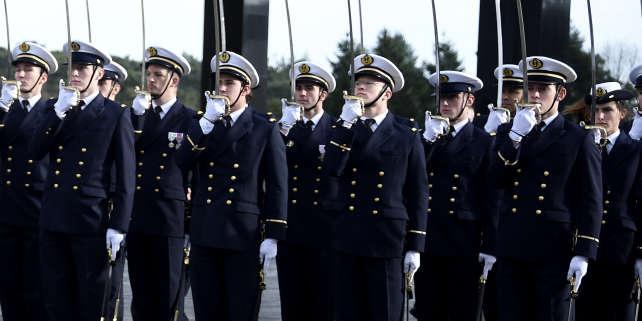 Au lycée militaire de Saint-Cyr à Coëtquidan (Morbihan), en janvier 2016.