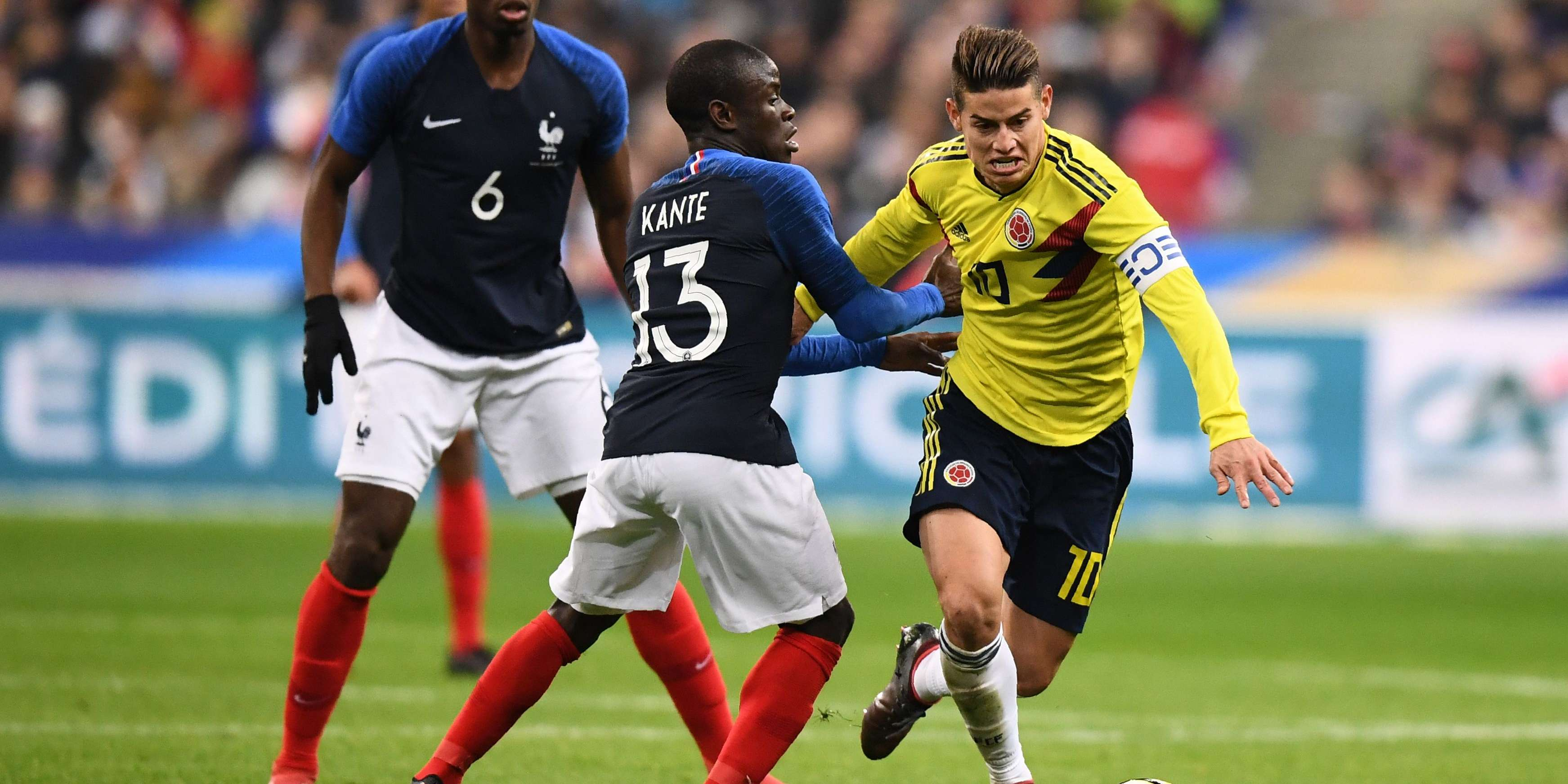 En direct football la colombie renverse la vapeur et bat la france 3 2 - Coupe de france en direct france 2 ...