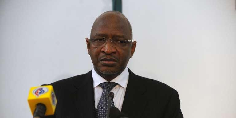 Soumeylou Boubèye Maïga, l'actuel premier ministre malien, à Alger, en 2011.
