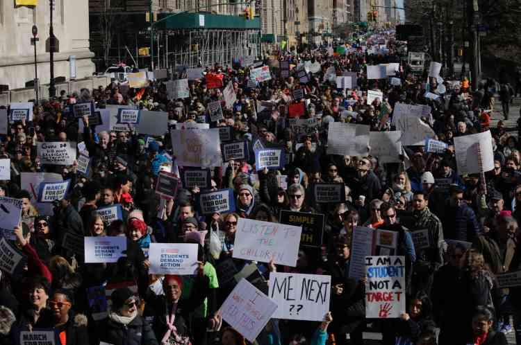 A New York environ 175 000 personnes ont battu le pavé.