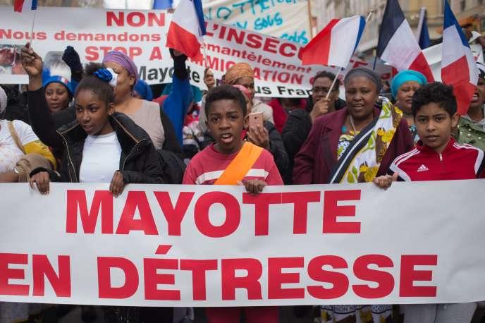 Le 24mars à Mayotte.