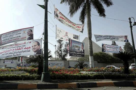 Les Egyptiens votent à partir de lundi pour élire leur président dans un scrutin sans surprise qui devrait donner à Abdel Fattah Al-Sissi un deuxième mandat.