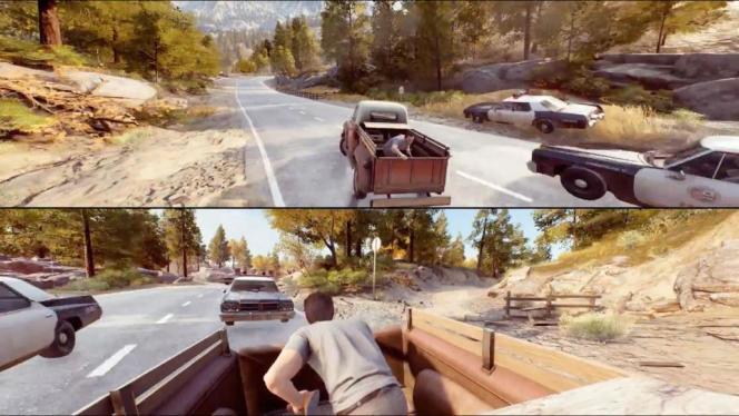 « A Way Out» multiplie les séquences obligeant les deux joueurs à collaborer.