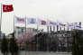 Les bureaux du groupe de presse Dogan Media, à Ankara (Turquie), le 22 mars.