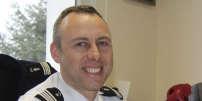 Le lieutenant-colonel de gendarmerie Arnaud Beltrame, à Avranches (Manche), en 2013.