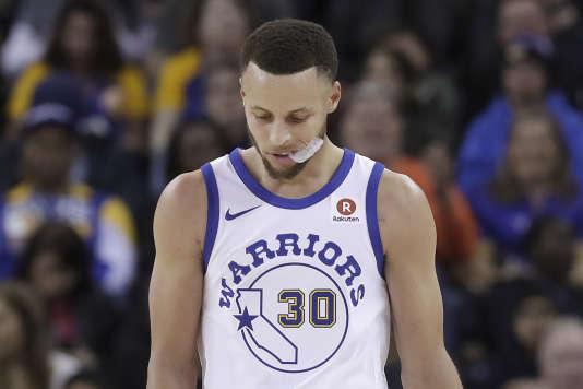 Stephen Curry à Oakland, le 23 mars 2018.