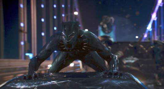 Image extraite du long-métrage «Black Panther», des studios Marvel.