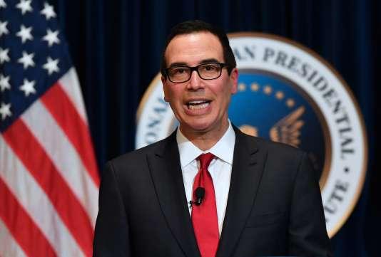 Steven Mnuchin, le secrétaire au Trésor américain, a envoyé une lettre à Pékin pour négocier des accords commerciaux.
