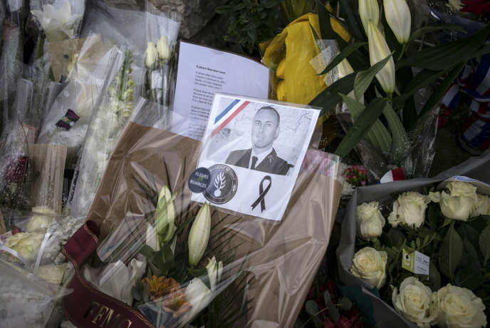 Le lieutenant-colonel Arnaud Beltrame est mort samedi24mars.