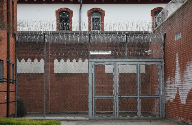 Le centre de détention où serait détenu Carles Puigdemont à Neumuenser, dans le nord de l'Allemagne, le 25 mars.