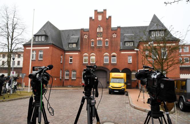 La prison de Neumünster, dans le Schleswig-Holstein, où est détenu Carles Puigdemont, le 26 mars.