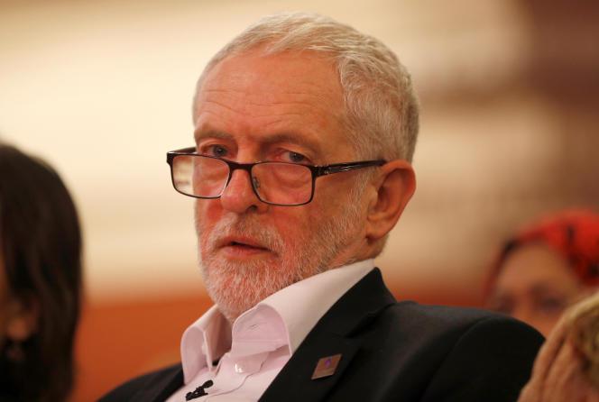 Jeremy Corbyn, à Londres, le 25 janvier 2018.