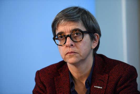 Catherine Guillouard, la présidente de la RATP, à Paris, le 15 novembre 2017.