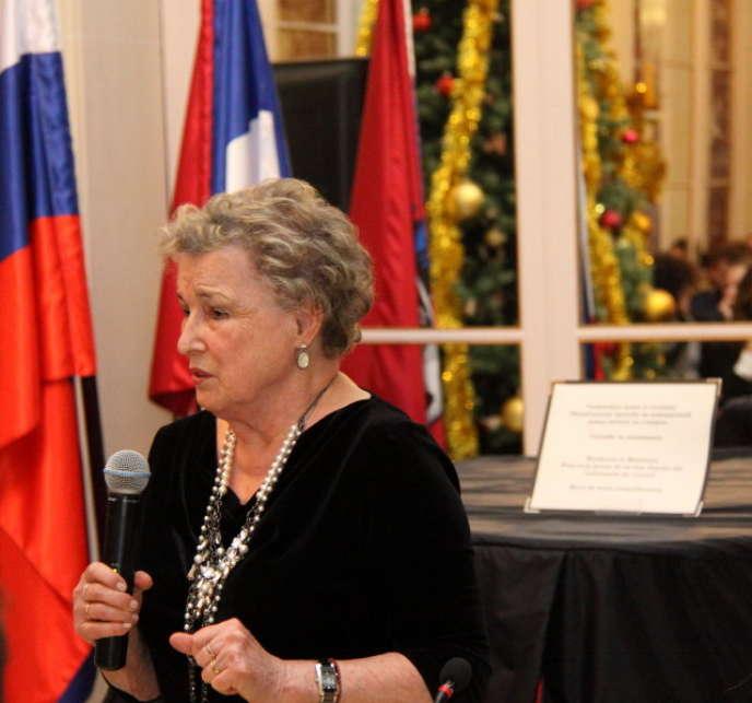 Véronique Lossky, en 2015.