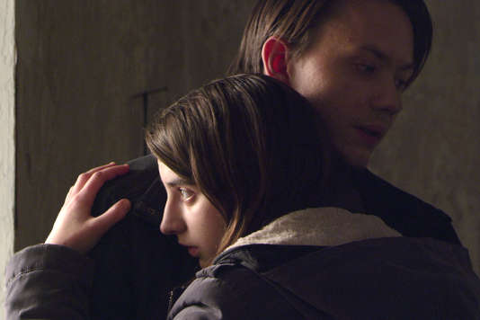 Inga (Lyja Maknaviciute) et Andreï (Andrzej Chyra), à l'épreuve du chaos du monde, dans«Frost», deSharunas Bartas.