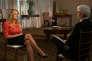 Stormy Daniels lors de son interview, réalisée début mars et diffusée dans l'émission« 60 minutes», le 25 mars.