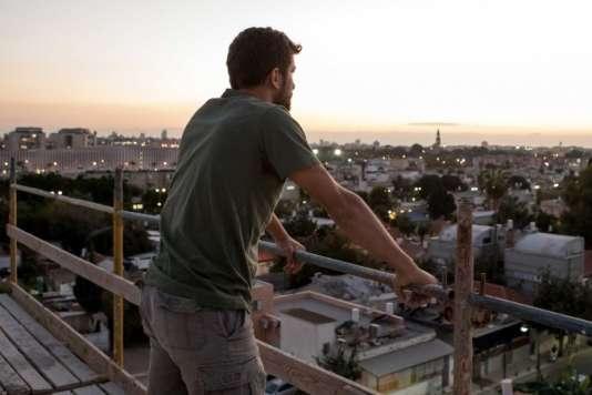 Asher Lax dans le film israélien et polonais de Matan Yair,« Les Destinées d'Asher» («Scaffolding»).