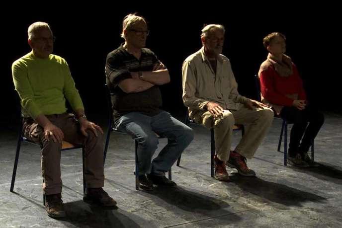 Une scène du documentaire français de Stéphane Mercurio,« Après l'ombre».