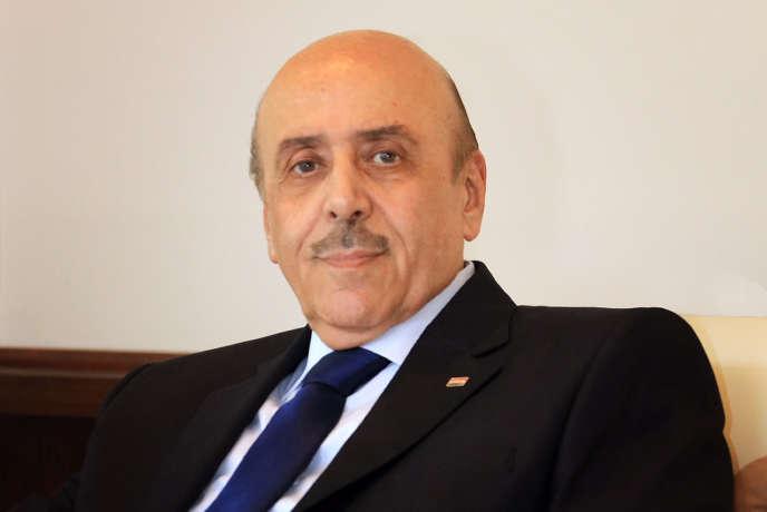 Ali Mamlouk à Damas en 2015.