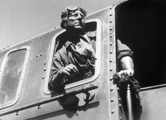 Jean Gabin dans« La Bête humaine» (1938), de Jean Renoir.