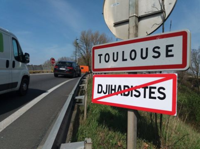 Facebook/Génération identitaire Toulouse