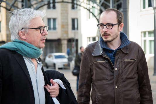 Antoine Deltour, à Luxembourg, en mars 2017.