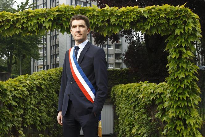 Stéphane Gatignon, le maire de Sevran (Seine-Saint-Denis), en mai 2017.