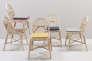 Toutes en courbes, les chaises Sillon de Guillaume Delvigne pour Orchid Edition.