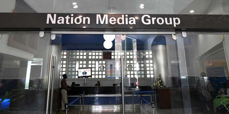 Le siège de Nation Media Groupe, à Nairobi, au Kenya, le 19janvier 2018.