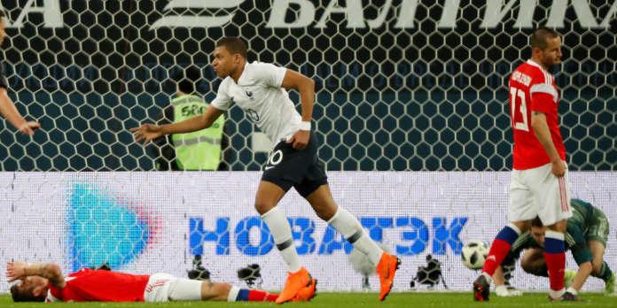 Football Revivez La Victoire De La France Face A La Russie