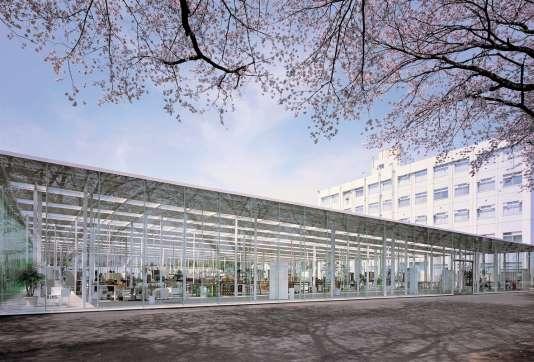 Pour l'institut de technologie de Kanagawa, au Japon, Junya Ishigami dit s'être laissé guider par «l'image d'une forêt».