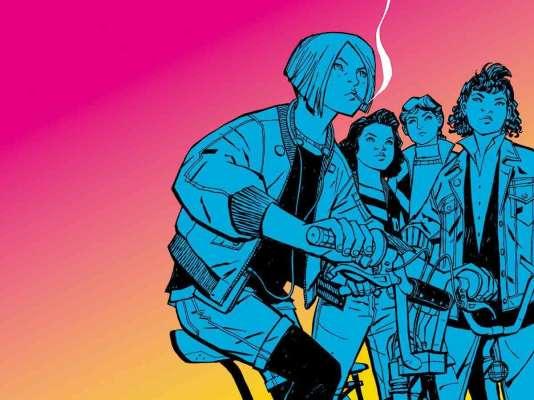 Les trois premiers tomes de «Paper Girls» sont disponibles chez Urban Comics.