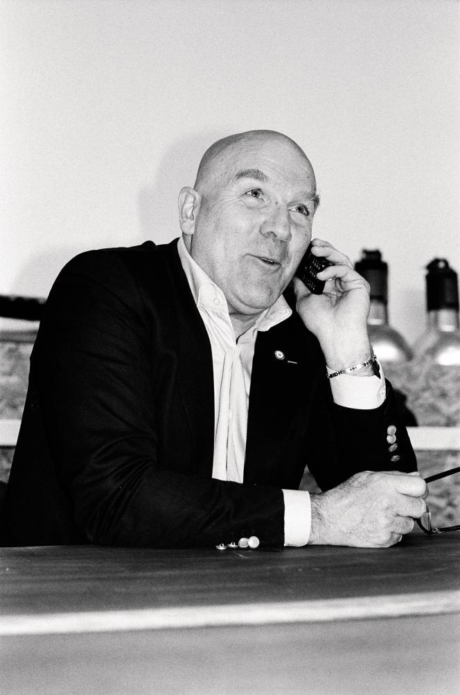 Le député LRM Bruno Bonnell dans sa circonscription, à Villeurbanne, le 12mars 2018.
