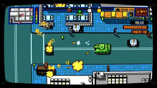 «Retro City Rampage DX» est sorti l'été dernier sur Nintendo Switch.