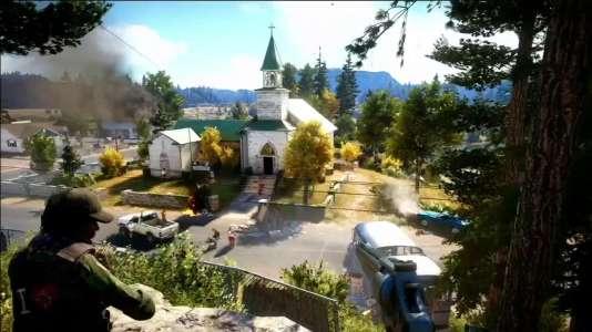 Cette église est l'un des lieux à capturer.