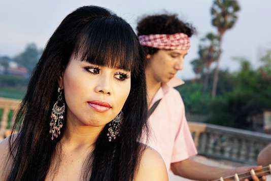 La chanteuse Kak Channthy était la voix et l'âme de The Cambodian Space Project, formé en 2009.