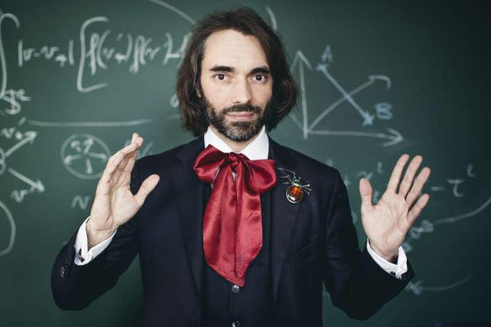 Cedric Villani, né en 1973, est un mathématicien français, directeur de l'Institut Henri-Poincare et professeur. Photo prise en mai 2016 à Paris