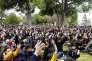 Réunis en assemblée générale mardi27mars, les étudiants de l'université Paul-Valéryvotent pour un «blocage illimité» de la faculté.