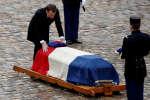Emmanuel Macron, le 28 mars aux Invalides.