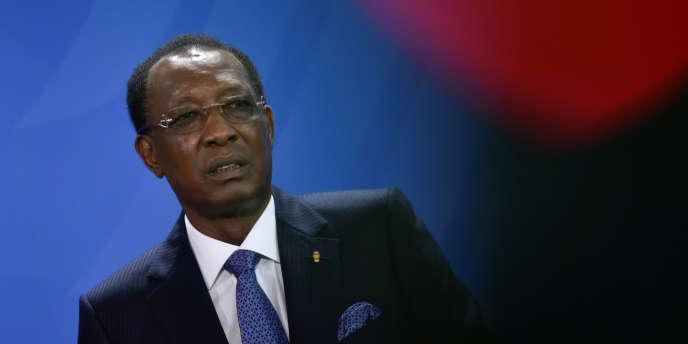 Le président tchadien, Idriss Déby, à Berlin, en octobre 2016.