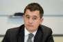 Le ministre de l'action et des comptes publics, le 29 mars, à Pantin (Seine-Saint-Denis).