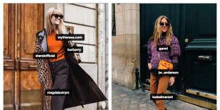 Les comptes Instagram des influenceuses Jeanette Friis Madsen et Emili Sindlev.