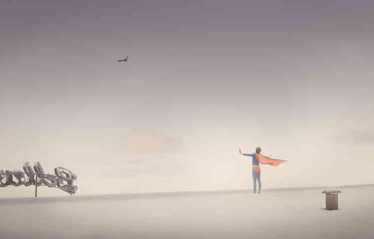 «Ole Marius Joergensen explore les zones d'ombre d'une société envahie par l'image et les modèles de réussite. La volonté à tout prix de se fondre dans un idéal peut amener l'homme à tenter le saut de l'ange.»