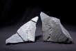 Abderrazak El Albani a découvert ces plaques d'argile portant la trace d'organismes multicellulaires fossiles près de Franceville, au Gabon.