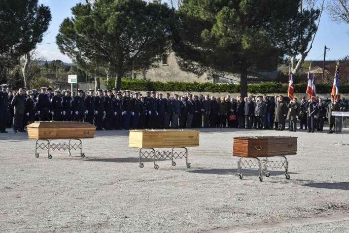 Des hommages sont prévus à Trèbes et Carcassonne.