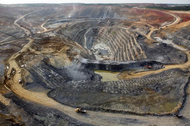 Une minede cuivre exploitée par Eurasian Resources Group en République démocratique du Congo,le 3 mars 2015.