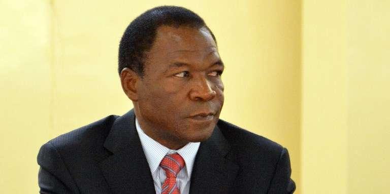 François Comparoré, le frère de l'ex-président du Burkina Faso, à Ouagadougou, en décembre 2012.