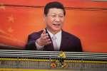 Un portrait de Xi Jinping à Pékin, le 24 octobre 2017.