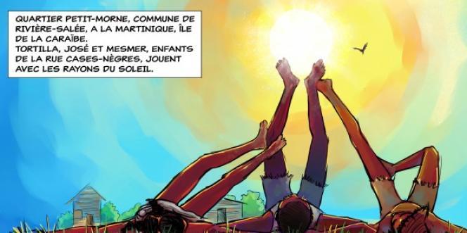 Extrait de« La Rue Cases-Nègres», deMichel Bagoe et Stéphanie Destin.