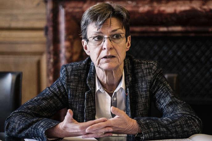 La procureure générale près la cour d'appel de Paris,Catherine Champrenault,le 26mars.